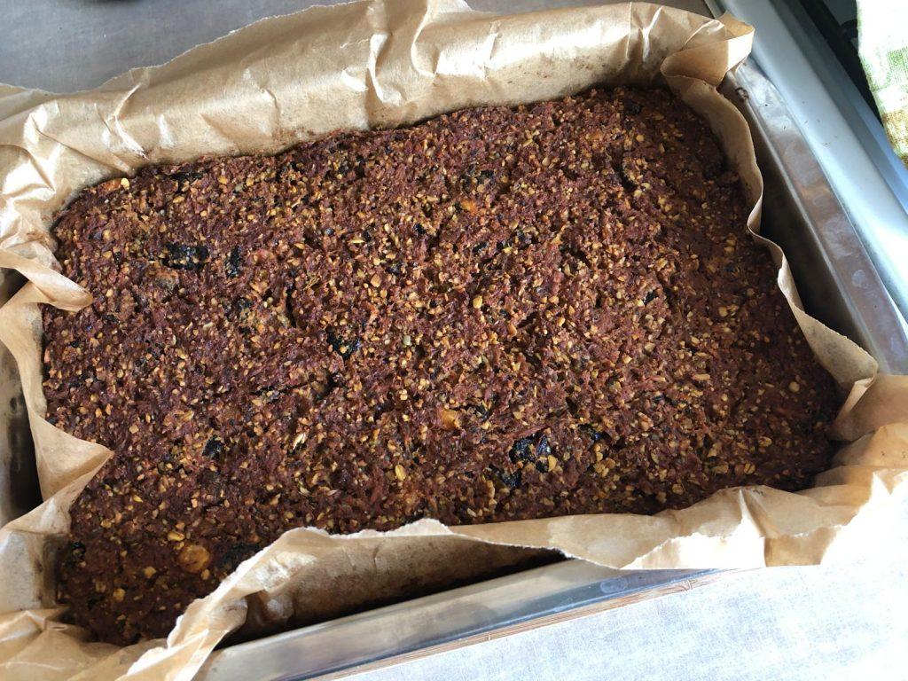 Ciasto marchewkowe od Anki W. po upieczeniu
